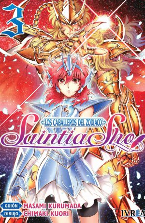 Los Caballeros del Zodiaco Saintia Sho Manga 03