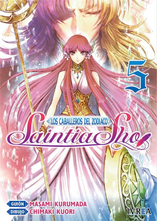 Los Caballeros del Zodiaco Saintia Sho Manga 05