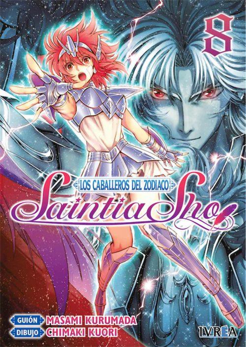 Los Caballeros del Zodiaco Saintia Sho Manga 08