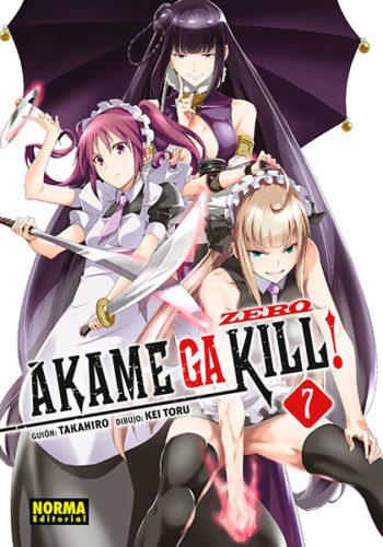 Manga Akame ga Kill! Zero-07