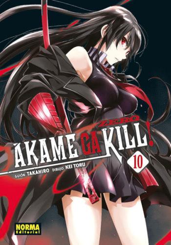 Akame ga Kill Zero Manga 10