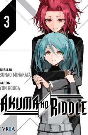 Akuma No Riddle Manga Tomo 3