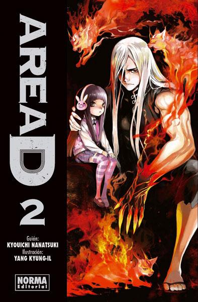 Area D manga tomo 2