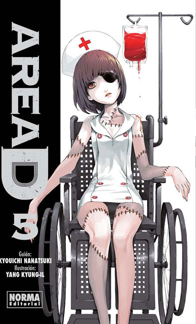 Area D manga tomo 5