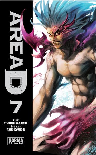 Area D manga tomo 7