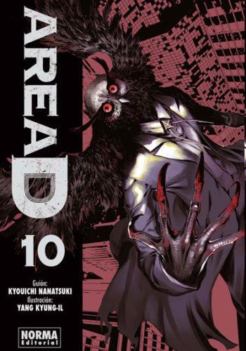 Area D manga tomo 10