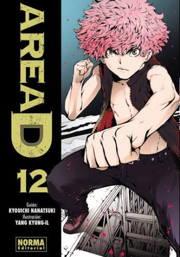 Area D manga tomo 12