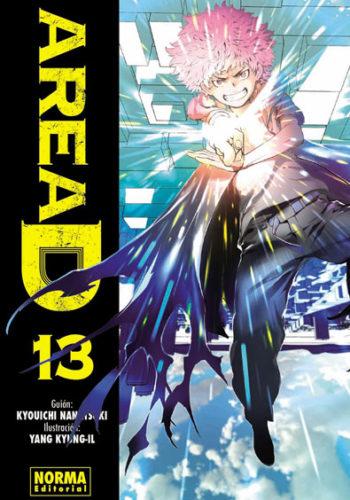 Area D manga tomo 13