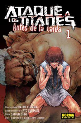 Ataque a los Titanes Antes de la Caida Manga Tomo 1