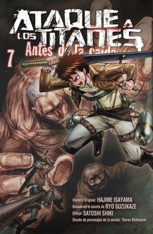 Ataque a los Titanes Antes de la Caida manga Tomo 7