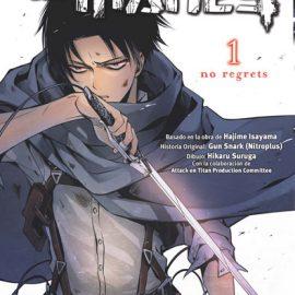 Manga Ataque a los Titanes No Regrets 01
