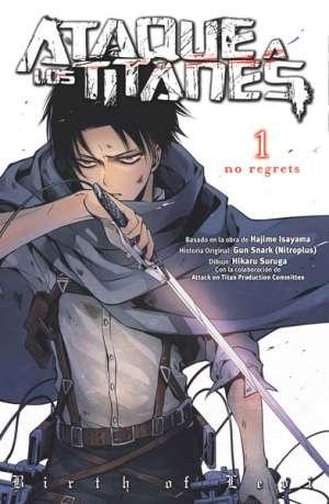 Ataque a los Titanes No Regrets manga Tomo 1