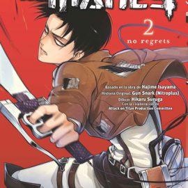 Manga Ataque a los Titanes No Regrets 02