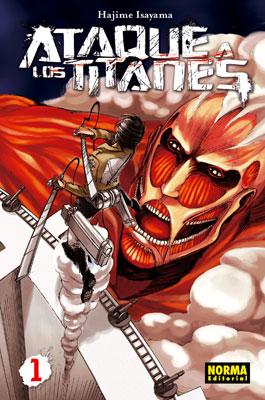 Ataque a los Titanes manga tomo 1