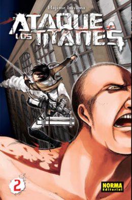 Ataque a los Titanes manga tomo 2