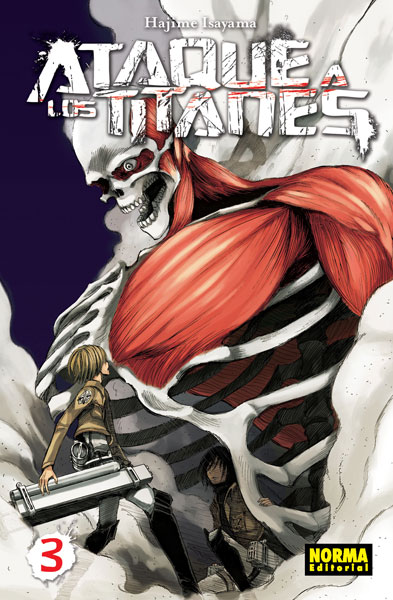 Ataque a los Titanes manga tomo 3