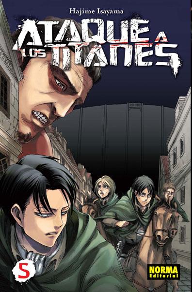 Ataque a los Titanes manga tomo 5