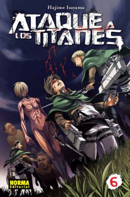 Ataque a los Titanes manga tomo 6