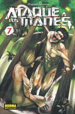 Ataque a los Titanes manga tomo 7