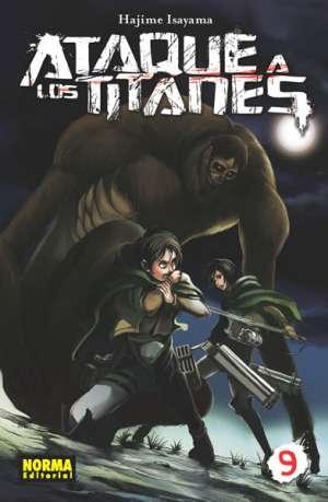 Ataque a los Titanes manga tomo 9