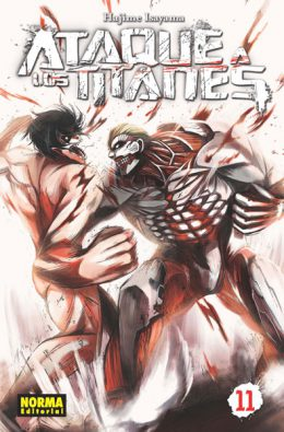 Ataque a los Titanes manga tomo 11