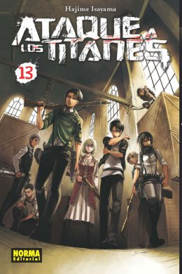 Ataque a los Titanes manga tomo 13