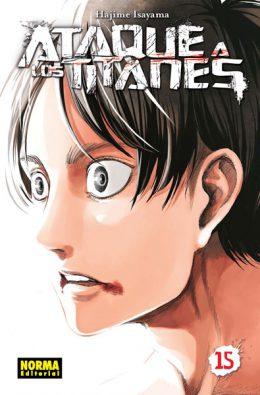 Ataque a los Titanes manga tomo 15