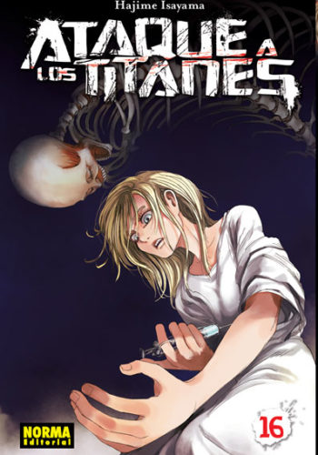 Ataque a los Titanes manga tomo 16