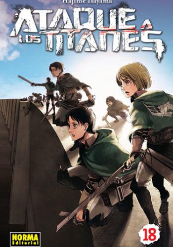 Ataque a los Titanes manga tomo 18