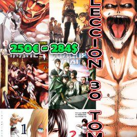 Manga Ataque a los Titanes Coleccion 30 Tomos