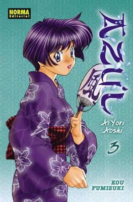 Azul Ai Yori Aoshi Manga Tomo 3