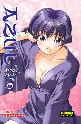 Azul Ai Yori Aoshi Manga Tomo 15