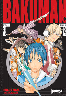 Bakuman Charaman Manga