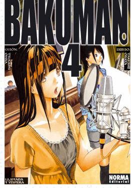 Bakuman Manga Tomo 4
