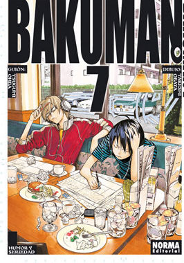 Bakuman Manga Tomo 7