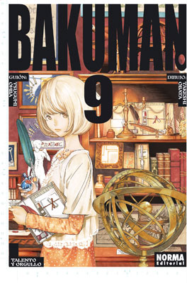 Bakuman Manga Tomo 9