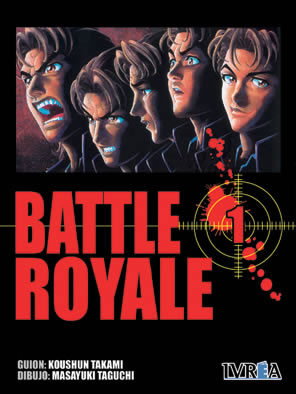 Battle Royale manga tomo 1
