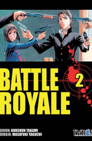 Battle Royale manga tomo 2