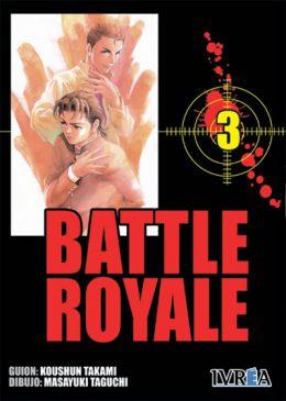Battle Royale manga tomo 3