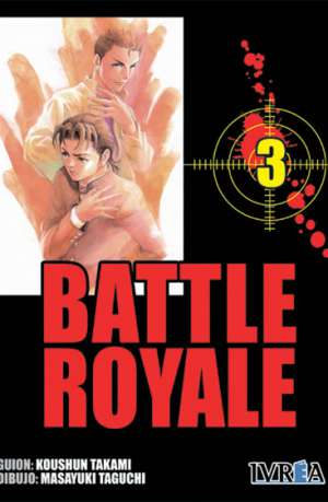 Battle Royale manga tomo 3