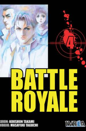 Battle Royale manga tomo 4