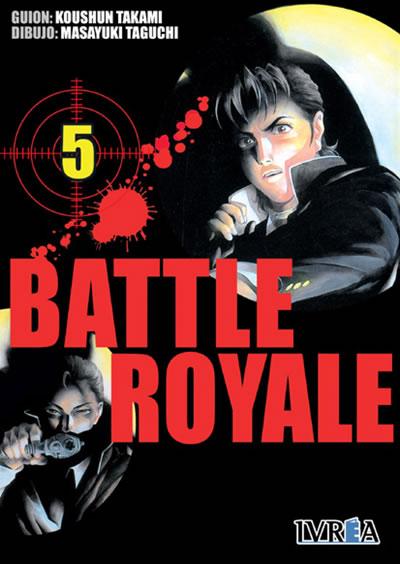 Battle Royale manga tomo 5