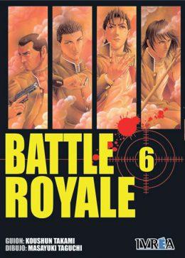 Battle Royale manga tomo 6