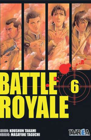 Battle Royale manga tomo 6