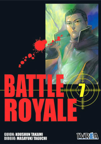 Battle Royale manga tomo 7
