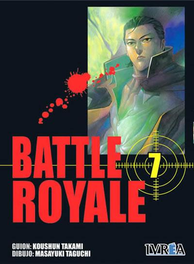 Battle Royale manga tomo 7