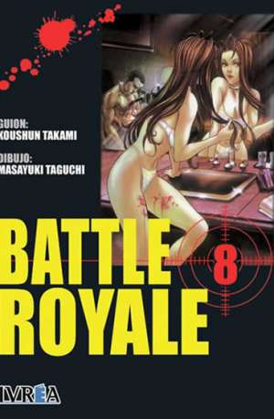 Battle Royale manga tomo 8