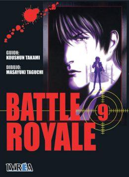 Battle Royale manga tomo 9