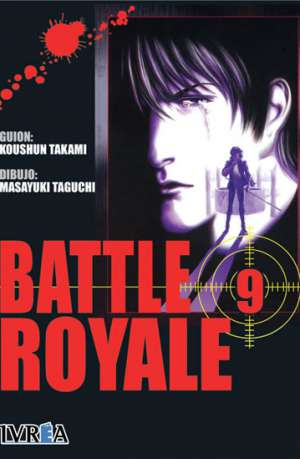 Battle Royale manga tomo 9