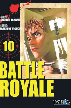 Battle Royale manga tomo 10